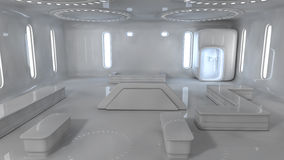 Free Futuristic Interior Royalty Free Stock Photography - 30091017