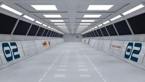 Free Futuristic Interior Royalty Free Stock Photo - 30850705