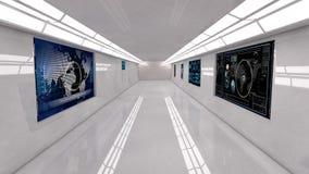 Free Futuristic Interior Royalty Free Stock Image - 31275146