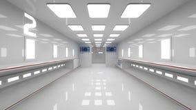 futuristic interior Fotografering för Bildbyråer