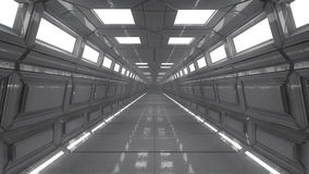 Futuristic interior architecture Royalty Free Stock Images