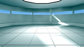 Futuristic interior Royalty Free Stock Photos