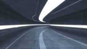 Futuristic interior Royalty Free Stock Photography