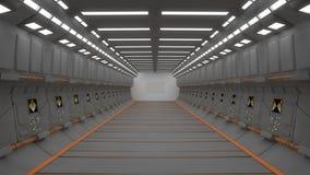 Futuristic interior Stock Photos