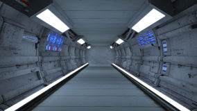 Futuristic interior Royalty Free Stock Images