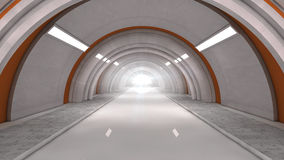Futuristic interior Royalty Free Stock Images