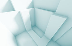 Futuristic Interior Design. 3d Abstract Futuristic Interior Design royalty free illustration