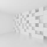 Futuristic Interior Design. Minimal Architecture Background Stock Photography
