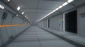 futuristic interior för arkitektur Fotografering för Bildbyråer