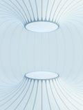 Futuristic interior space Stock Photos