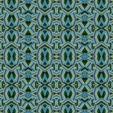 Futuristic Intricate Geometric Seamless Pattern Royalty Free Stock Images