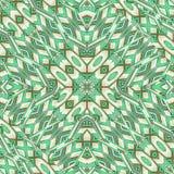 Futuristic Intricate Geometric Seamless Pattern Stock Photos