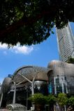 Futuristic Ion Orchard shopping mall: Singapore Royalty Free Stock Photos