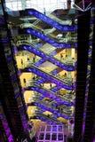 futuristic korridorgalleria royaltyfri bild