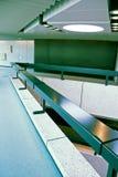 futuristic korridorkontor Arkivbild