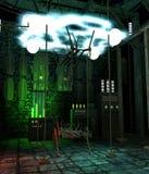Futuristic laboratory 1 royalty free illustration