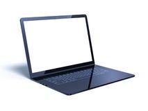 Futuristic laptop presentation Royalty Free Stock Photography