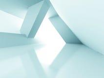 Futuristic Light Design Architecture Background Stock Photography
