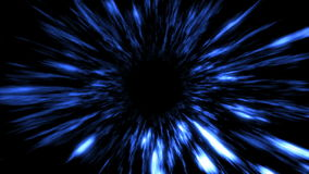 Futuristic light tunnel. Abstract background. Seamless loop. stock video
