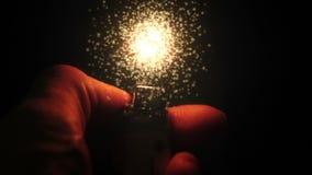 Futuristic lighter stock video