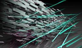 Futuristic Lines Stock Image