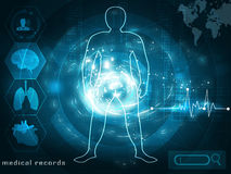 Futuristic medical concept Stock Photo