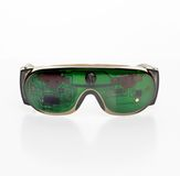 Futuristic microchip goggles Royalty Free Stock Photo