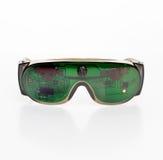 Futuristic microchipgoggles Royaltyfri Foto