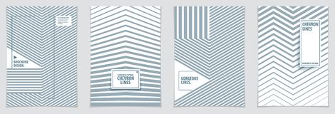 Futuristic minimal brochures graphic design templates. Vector ge. Ometric patterns abstract backgrounds set. Design templates for flyers, booklets, greeting Stock Photo