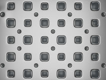 Futuristic modern metallic background. Abstract creative hi-tech architectural pattern Stock Photography