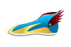 Futuristic Modern Sneaker. Design, good for your real sneaker design Royalty Free Stock Photo