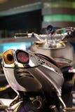 Futuristic motorbike Royalty Free Stock Image