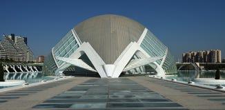 Ciudat de las Artes y las Ciencias Valencia Royalty Free Stock Images