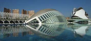 Ciudat de las Artes y las Ciencias Valencia Royalty Free Stock Photo