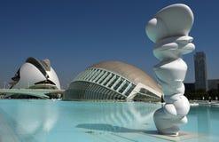 Ciudat de las Artes y las Ciencias Valencia Royalty Free Stock Photos