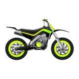 Futuristic Neon Bike Royalty Free Stock Photo