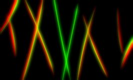 Futuristic neon curved lines abstract illustration background royalty free stock image