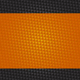 Futuristic Orange and Carbon  Background Stock Photos