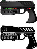 Futuristic pistol Royalty Free Stock Image