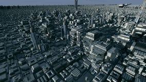 Futuristic planet Stock Image