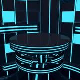 Futuristic platform Royalty Free Stock Photo