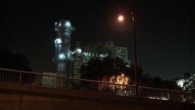 Futuristic Power Station stock footage