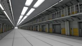 Futuristic prision Stock Image