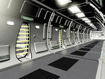 Futuristic Prison Cell Block Royalty Free Stock Photography