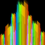 Futuristic rainbow abstract background Stock Images