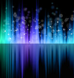 Futuristic Rainbow Lights Background Royalty Free Stock Photo