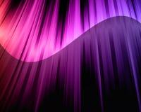 Futuristic Rainbow Lights Background Stock Image