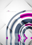 Futuristic rings background Royalty Free Stock Image