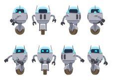 Futuristic robot Royaltyfri Foto