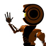 Futuristic robot man Royalty Free Stock Images